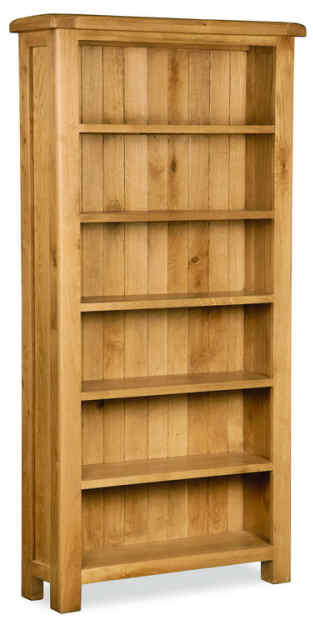 cumbria oak bookcase 1